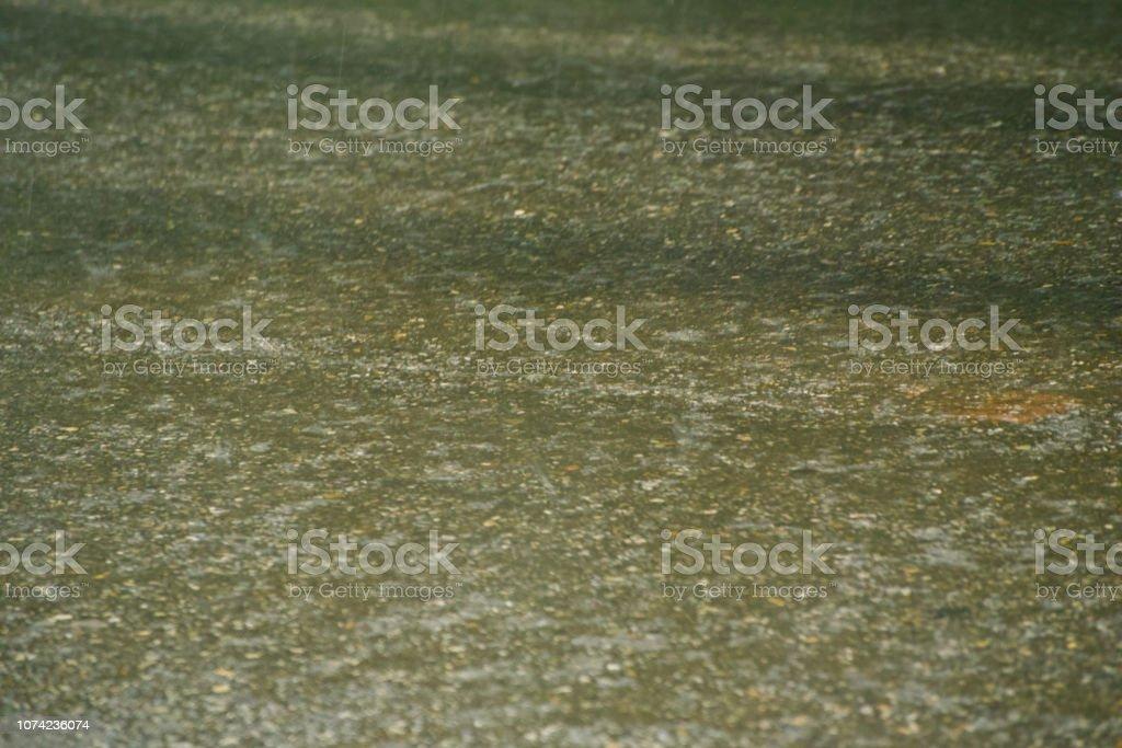 A wet concrete surface unique photo stock photo