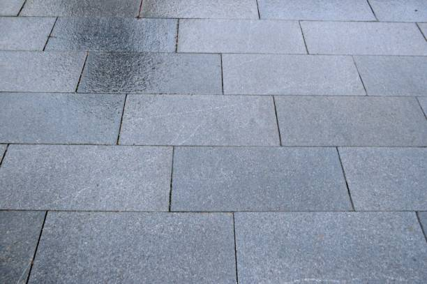 Wet granite stock photo