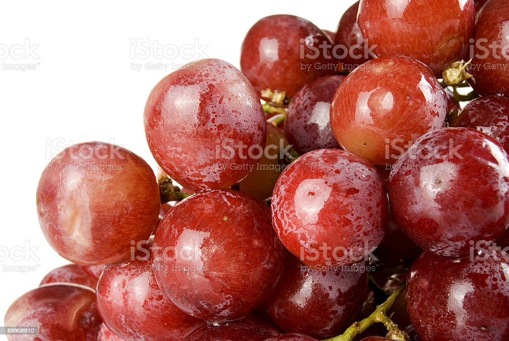 wet grape royalty-free stock photo