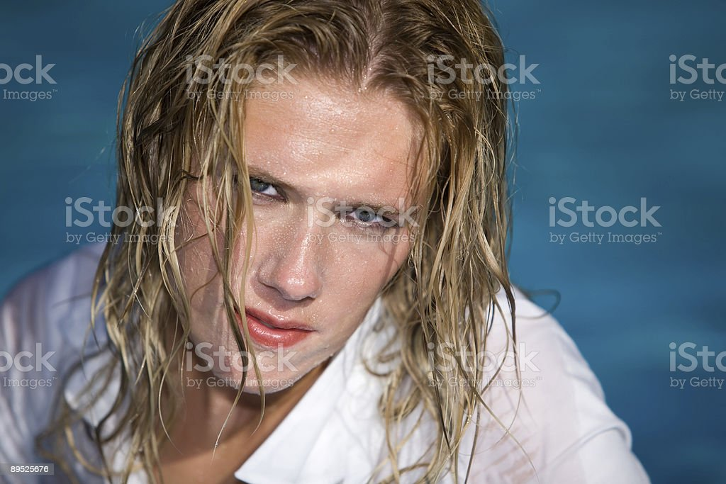 Wet look royalty-free stock photo