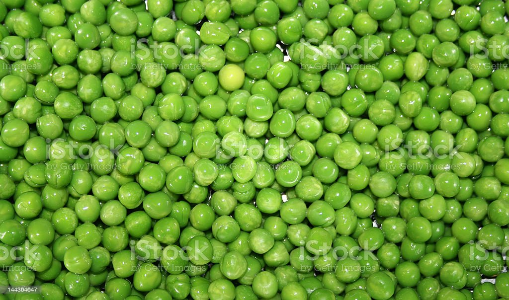 Wet Peas royalty-free stock photo