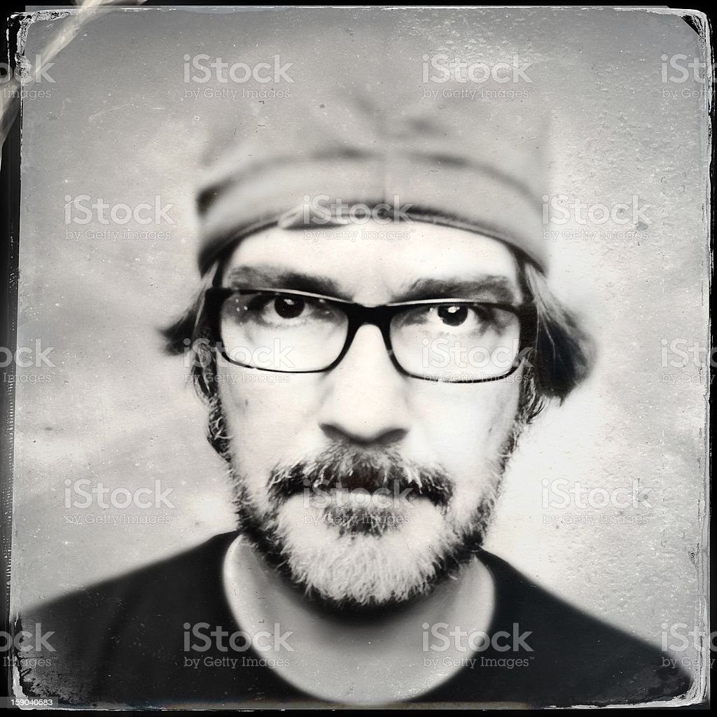 Wet Plate portrait royalty-free stock photo