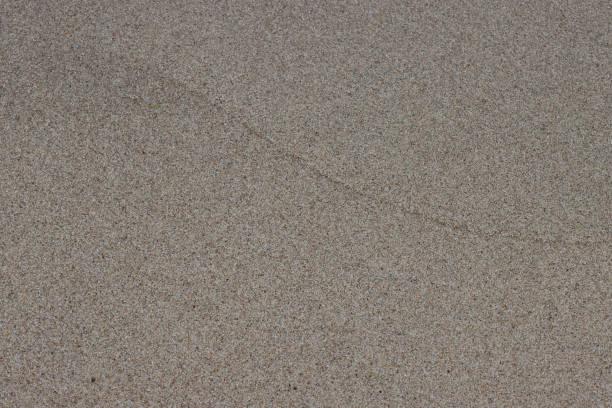 Wet sand on the beach. stock photo
