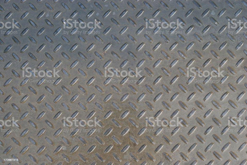 Wet Sheet Metal royalty-free stock photo