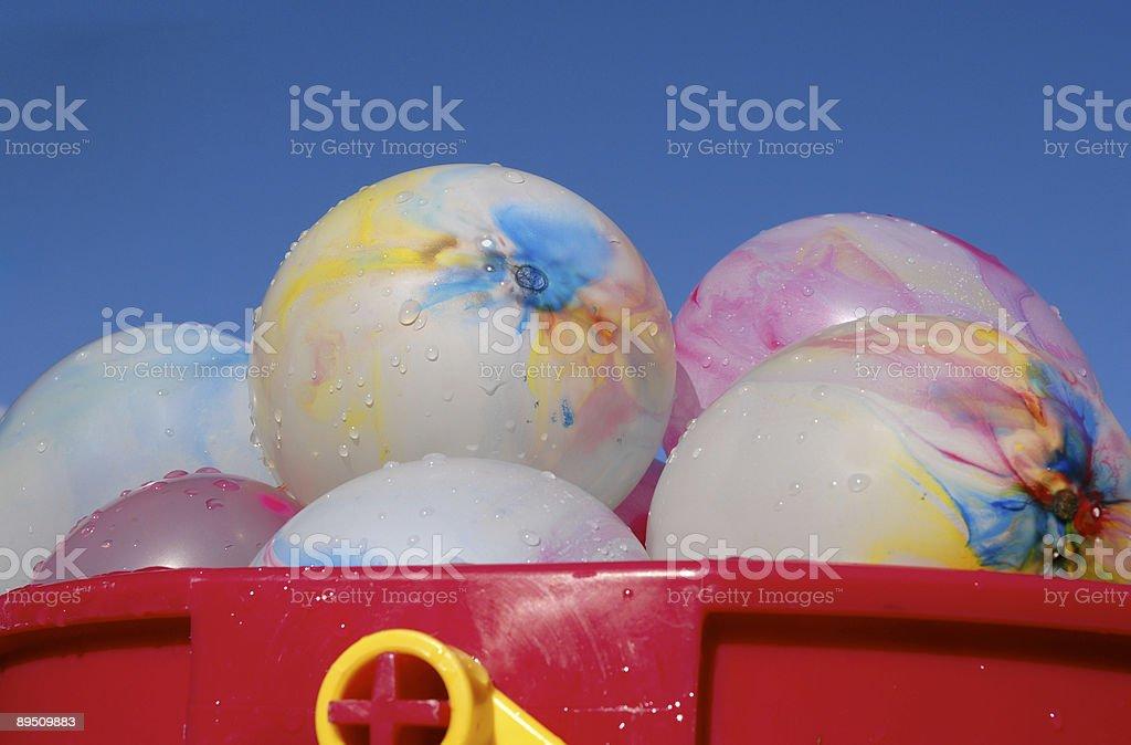 Wet Summer Fun royalty-free stock photo