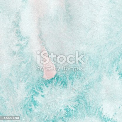 1131857558istockphoto Wet Watercolor Wash. Abstract isolated colorful watercolor stain, hand  painted on paper. Grunge element for design