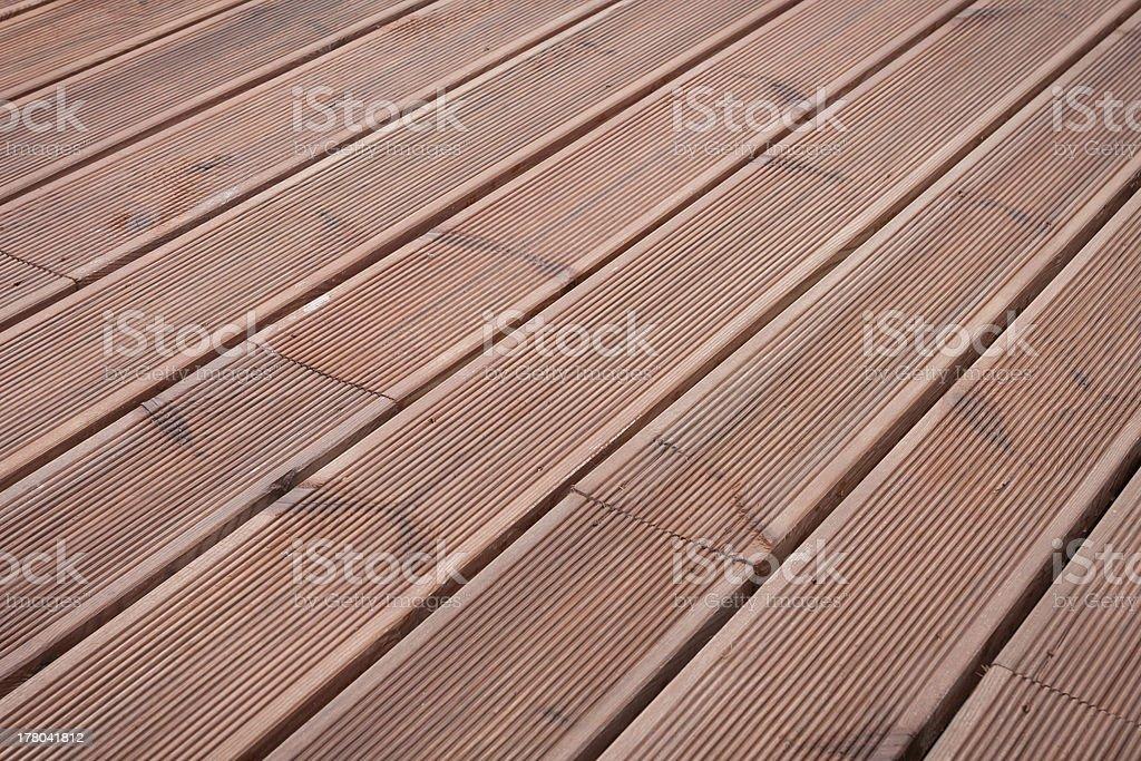 wet wood terrace floor background royalty-free stock photo