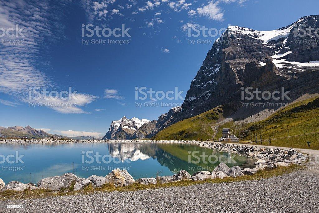 Wetterhorn, Swiss Alps royalty-free stock photo