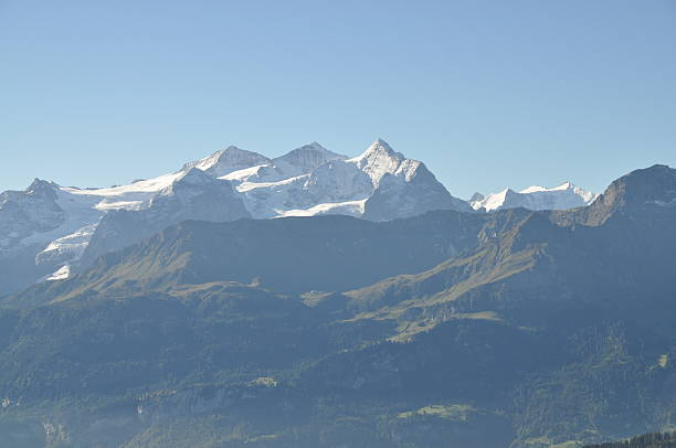 Wetterhörner, die Berge in der Schweiz – Foto