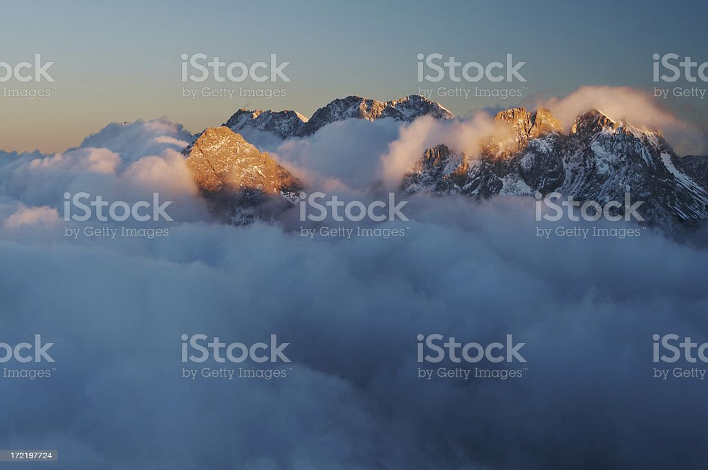 wetterstein 2 royalty-free stock photo