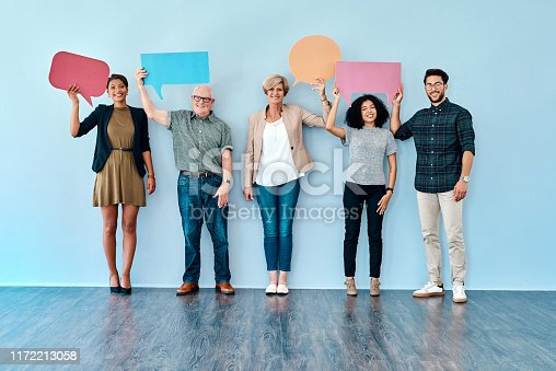 1048561866istockphoto We've all got a point to raise 1172213058