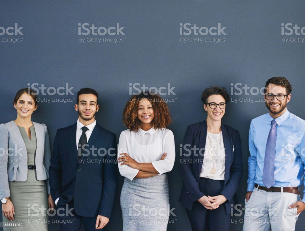 We've each got our role to play stock photo