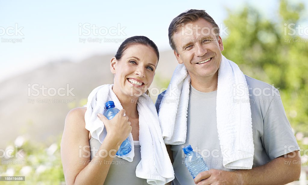 We've never looked or felt this good royalty-free stock photo