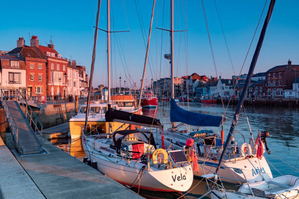 weymouth, dorset, england - weymouth stock photos and pictures