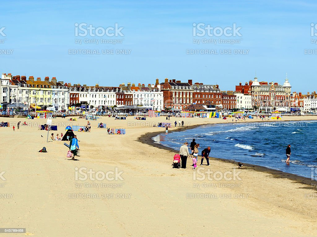 Weymouth, Dorset. stock photo
