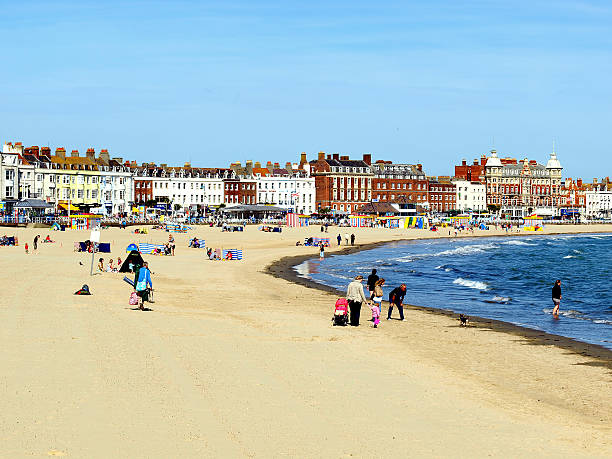 weymouth, dorset. - weymouth stock photos and pictures