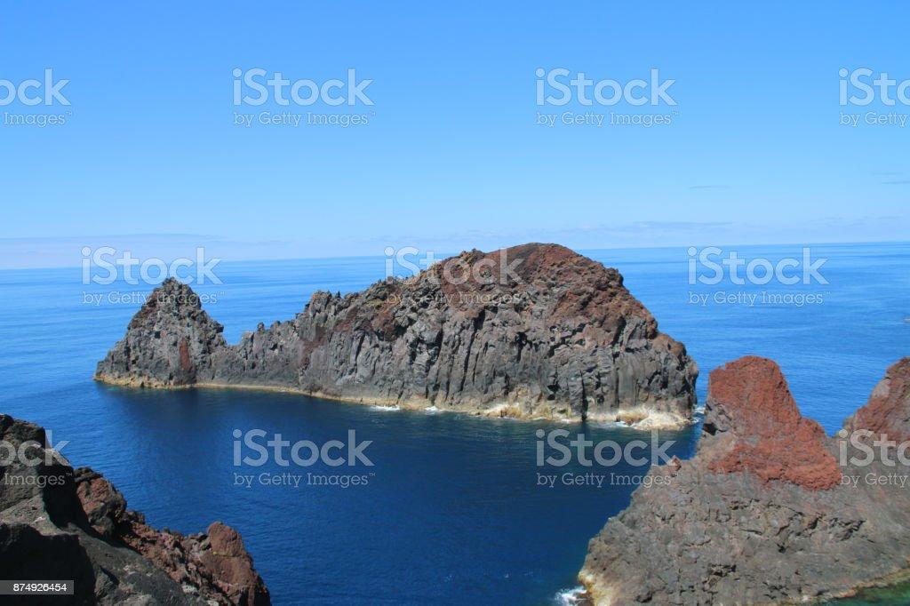Whale island - fotografia de stock