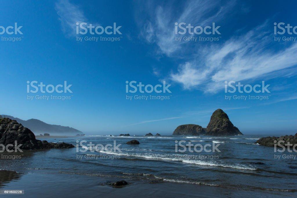 Whaleshead Beach Oregon Coast stock photo