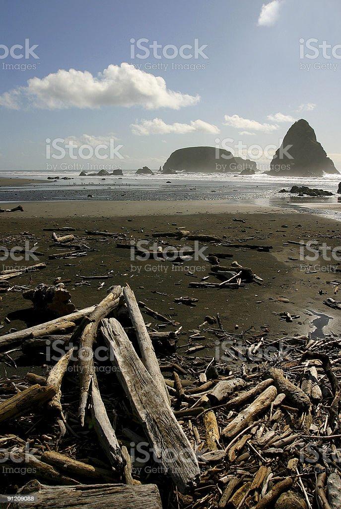 Whaleshead Beach stock photo