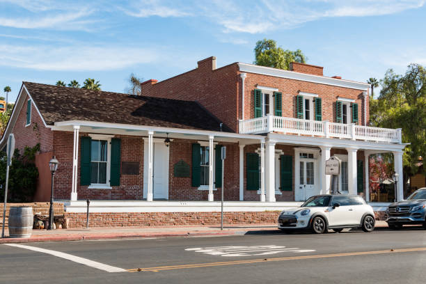 Whaley House en el casco antiguo de San Diego - foto de stock
