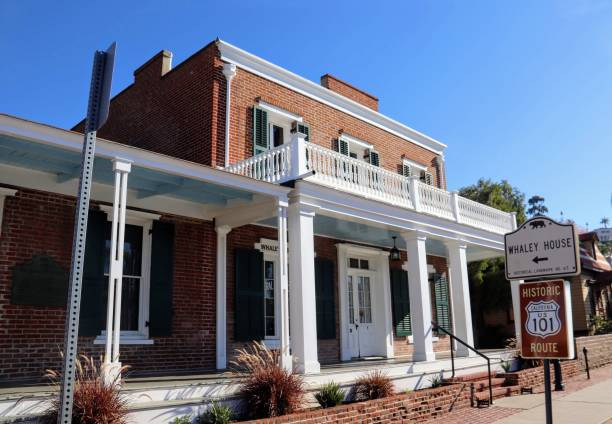 Whaley House Old Town stock photo