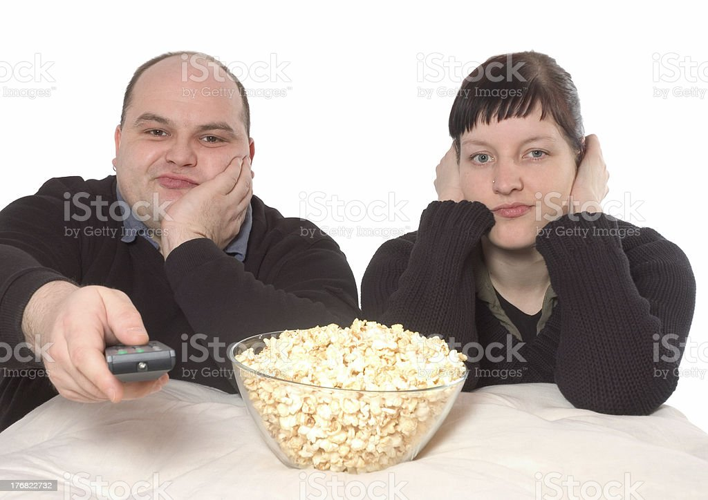 what a boring movie stock photo