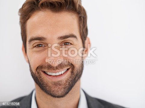 istock What a charmer of a smile 623215258