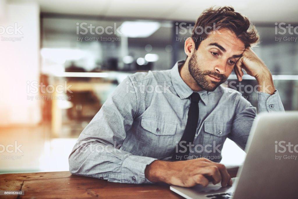 What a dull day... stock photo