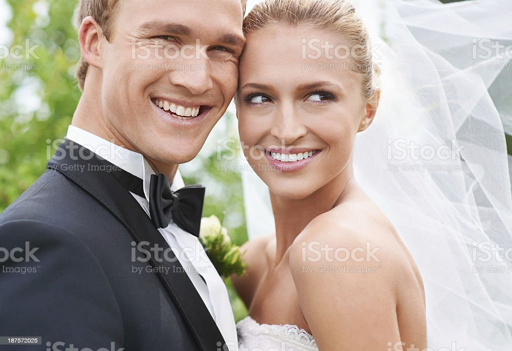 What a great day! stock photo