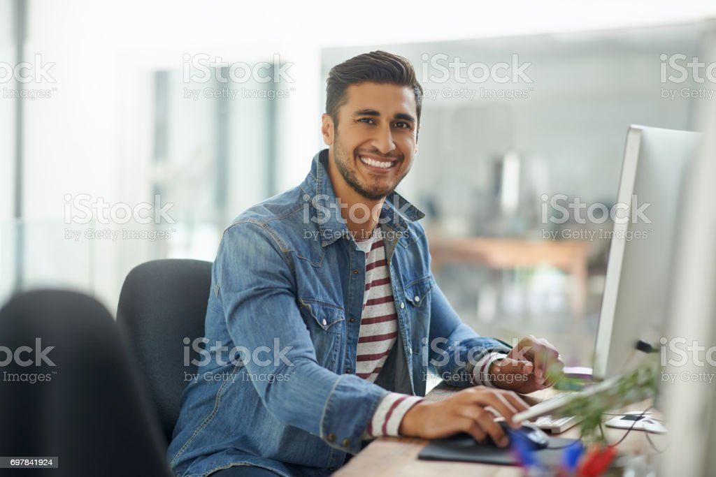 What a great organization to work for stock photo