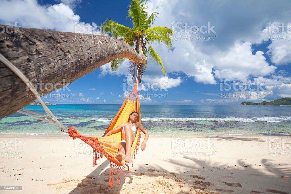 what a great place for relaxing royalty-free stock photo
