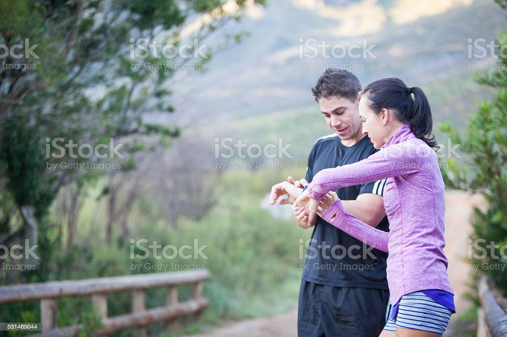 What a great run stock photo