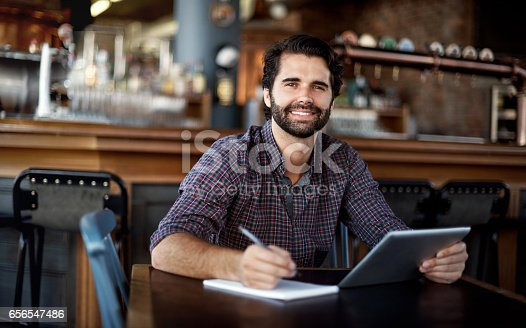 istock What a great tool for supporting bar operations 656547486