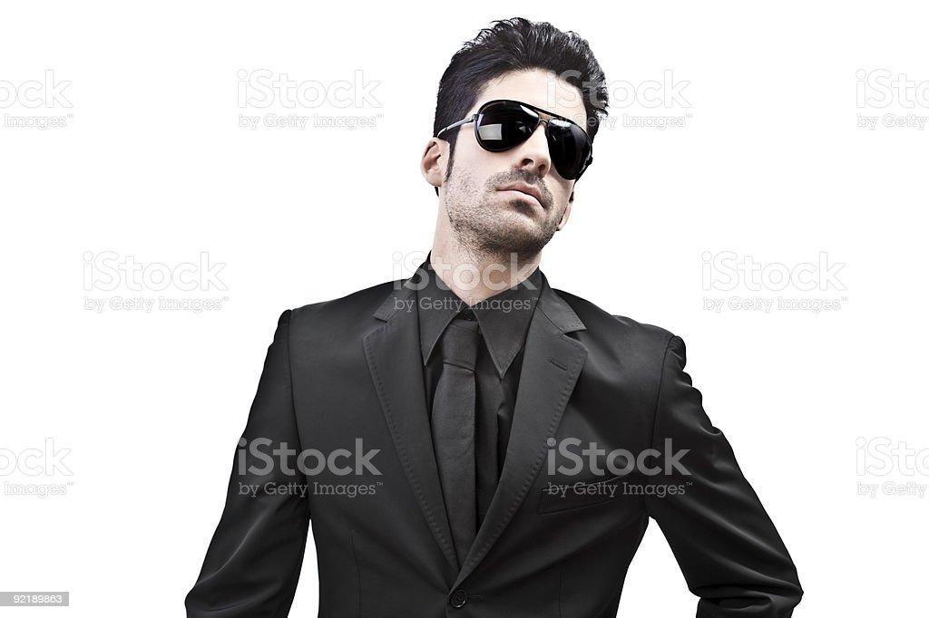 What a hunk royalty-free stock photo