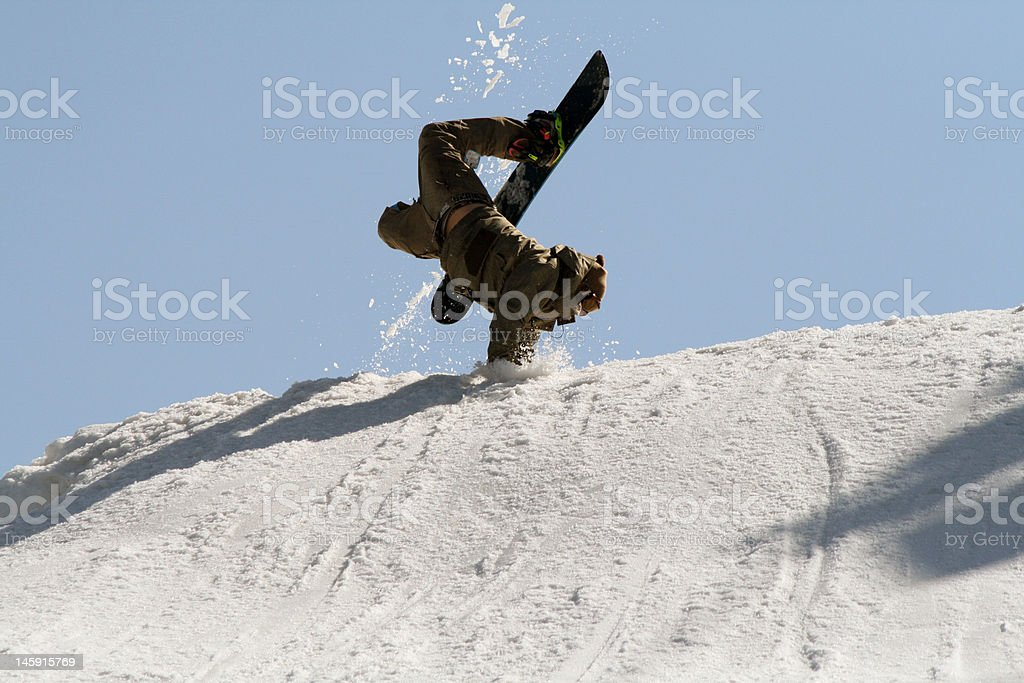 What a Jump! royalty-free stock photo