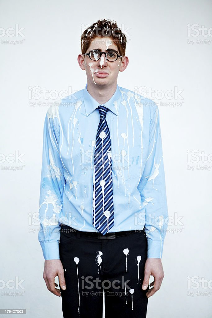 What a mess! stock photo