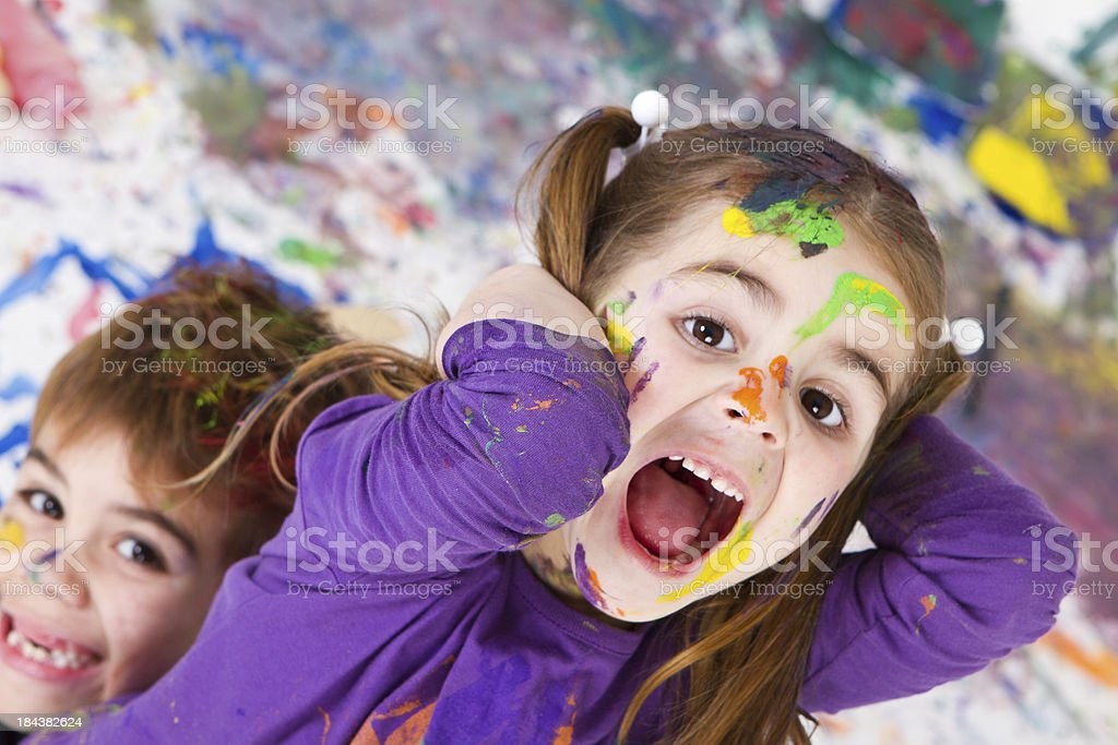 What a mess we've done !!! royalty-free stock photo