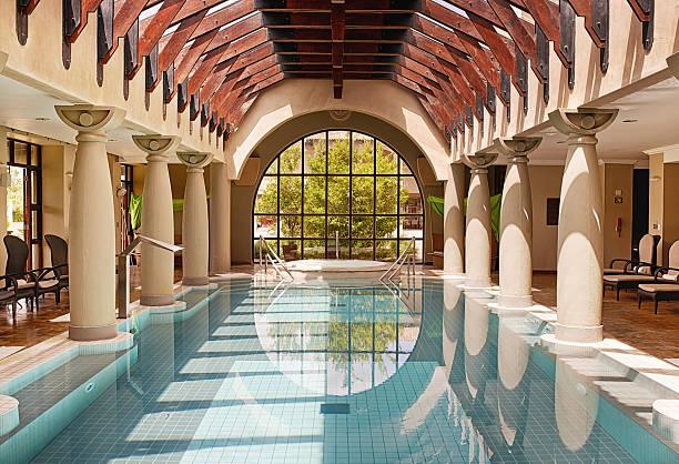Quel parfaitement placid de la piscine - Photo