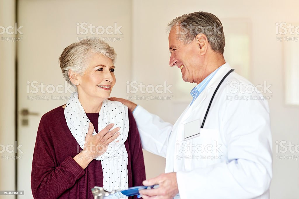 What a relief! stock photo