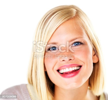 istock What a sparkling smile! 507009099