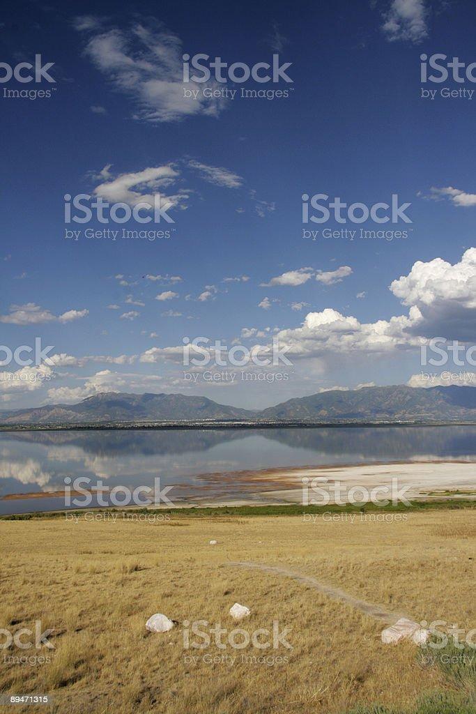 Qué vista. foto de stock libre de derechos