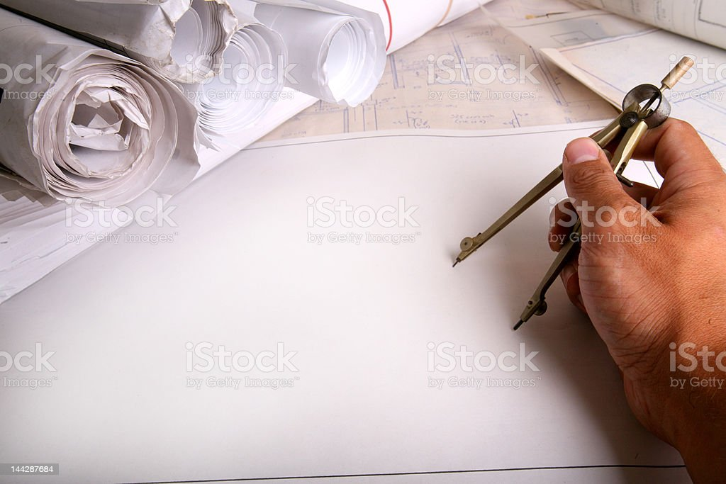 What am I about to draw? royalty-free stock photo