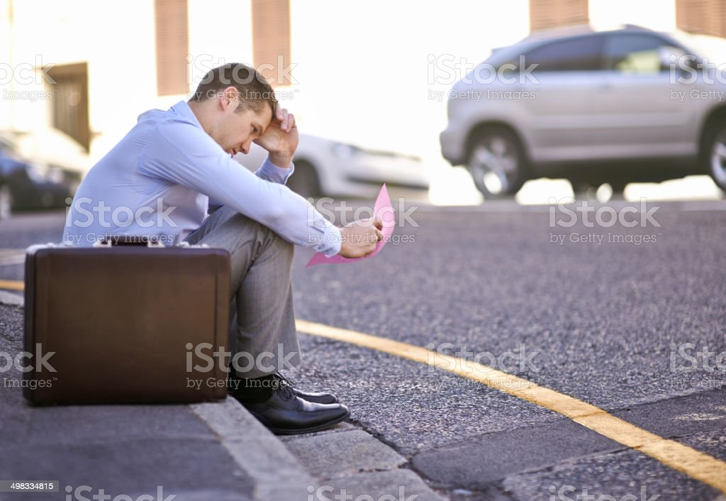 What am I going to do now? stock photo