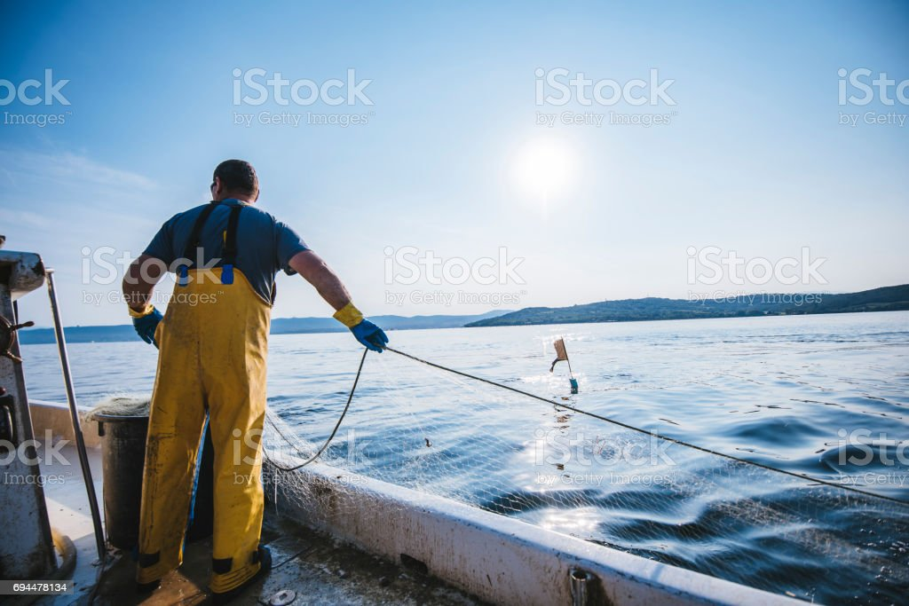 What am I gonna catch today? stock photo