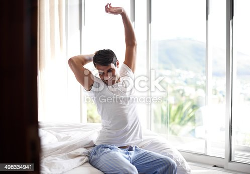 istock What an amazing night's rest 498334941