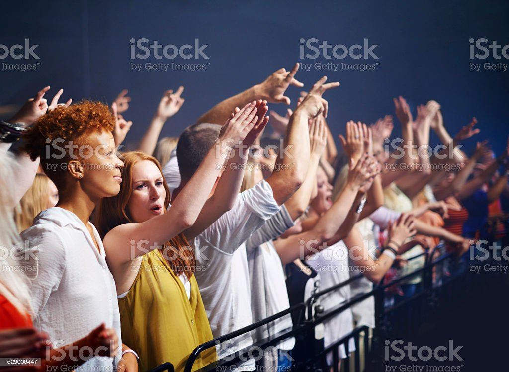 What an awesome show stock photo