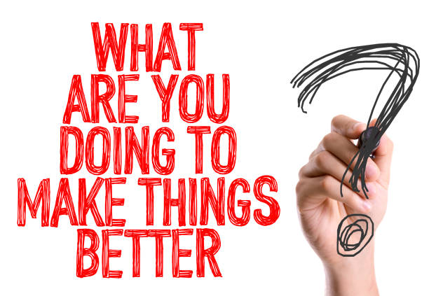 what are you doing to make things better? - responsible business stock photos and pictures