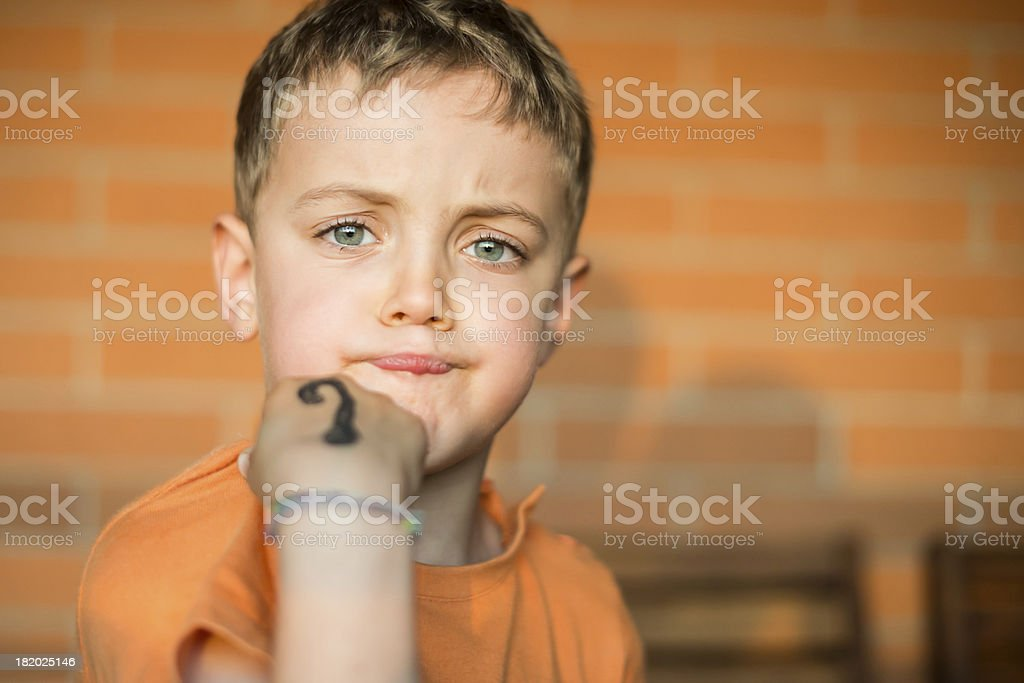 What are you saying! royalty-free stock photo