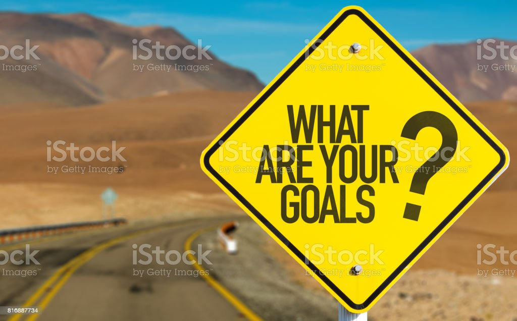 What Are Your Goals? royalty-free stock photo