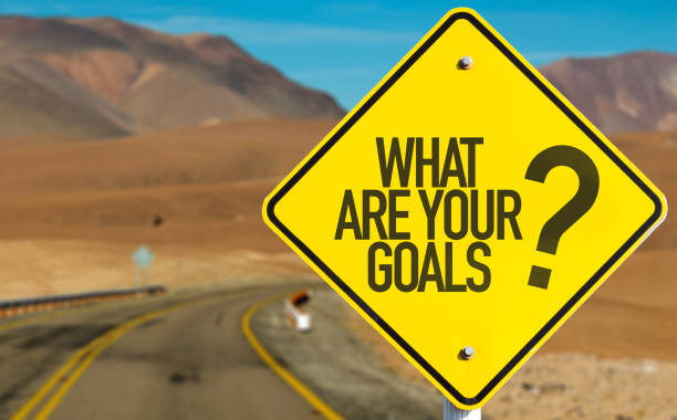 What Are Your Goals? stock photo